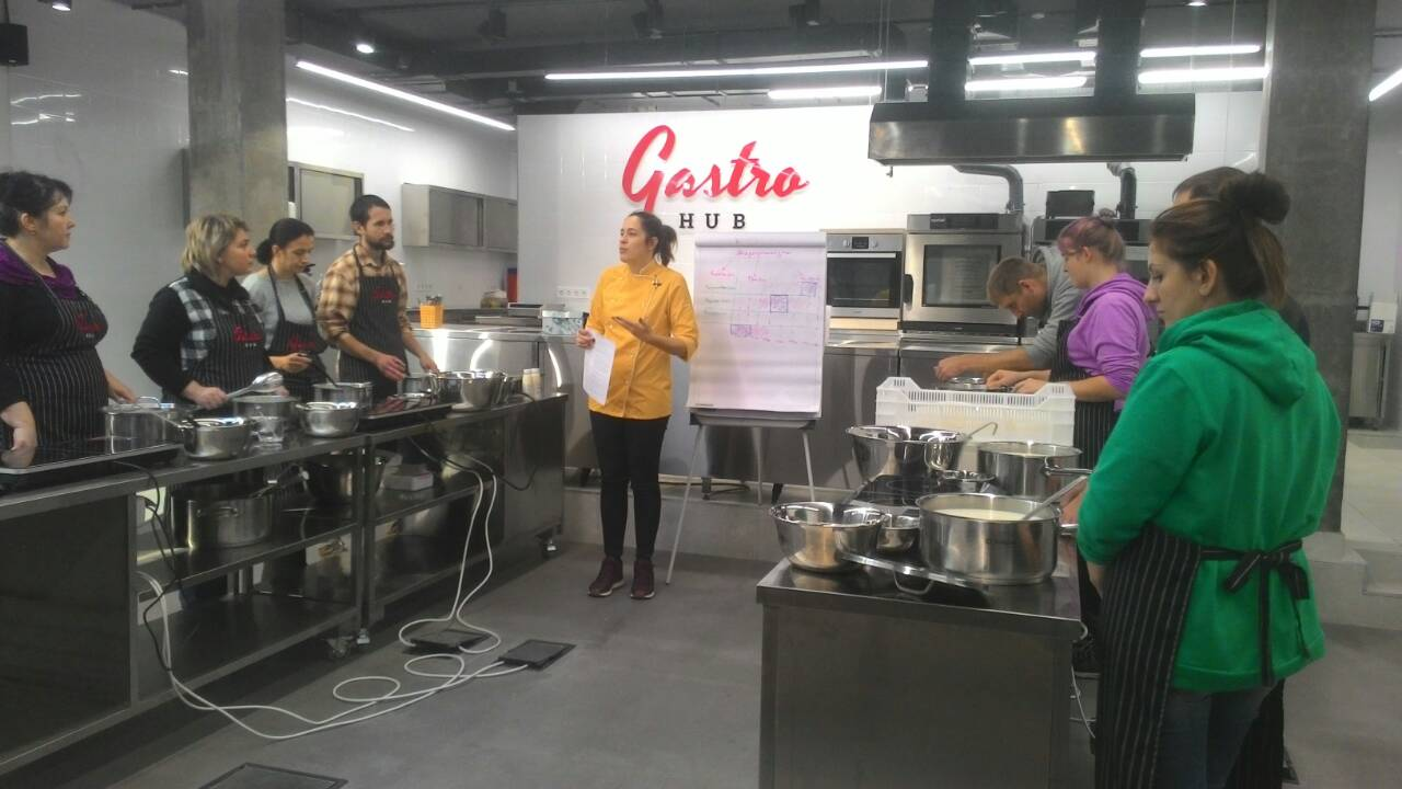 """Koza Chka"" and Lithuanian cheese-makers visited GastroHub"